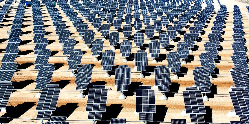 Nellis Solar Power Plant